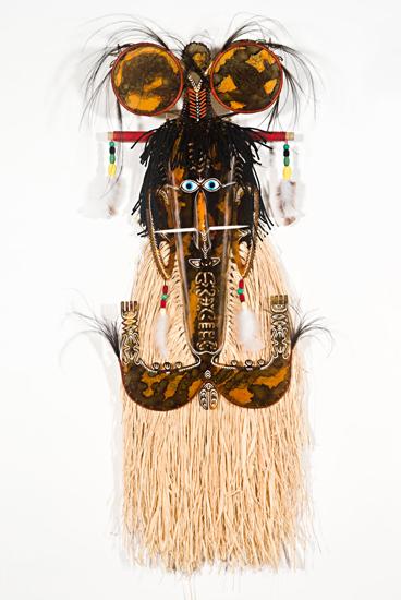 Alick Tipoti, Baywaw Mawa (Laag) I, Torres Strait Islander art