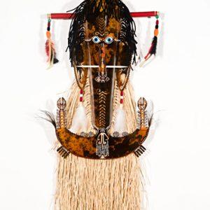 Alick Tipoti, Baywaw Mawa (Laag) III, Torres Strait Islander art