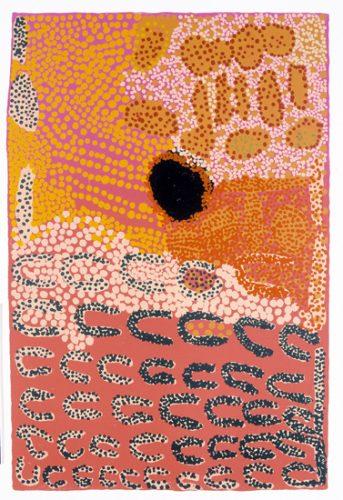 Lucy Napanangka Yukenbarri, Punyarnita II, Aboriginal art