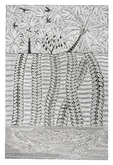 Billy Missi, Waru Thural, Torres Strait Islander art