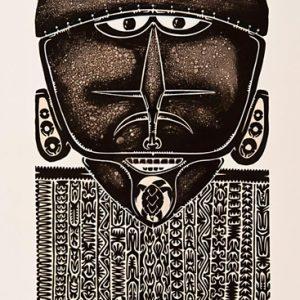 Alick Tipoti, Warungu - From the Turtle, Torres Strait Islander art
