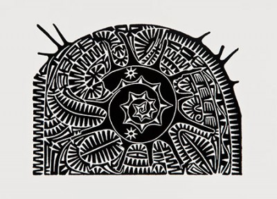 Brian Robinson, Shell III, Torres Strait Islander art