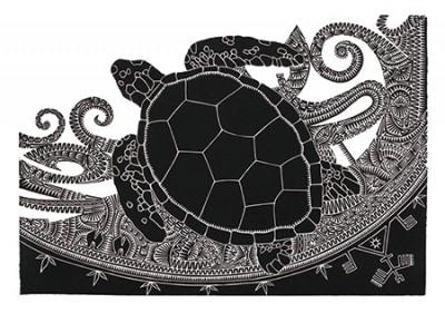 Brian Robinson, Waru I, Torres Strait Islander art