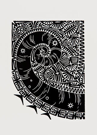 Brian Robinson, Shell I, Torres Strait Islander art