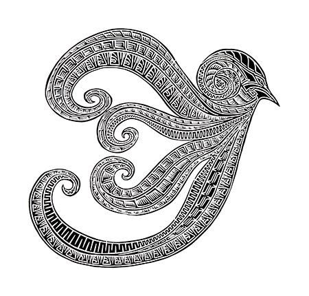 Joel Sam, Gub - Four Winds of Zenadh Kes, Torres Strait Islander art