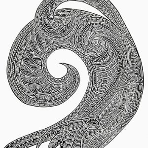 Joel Sam, Ibauw Baw - Tidal Wave, Torres Strait Islander art