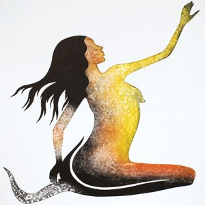 Lisa Michl (Ko-manggen), Water Fairy II, Aboriginal art