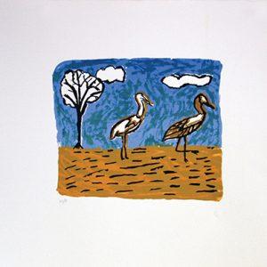 Doris Kinjun, Gigarr, Aboriginal art