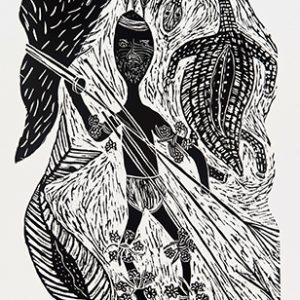 Eddie Kepple, Orchid Man, Aboriginal art