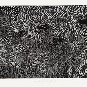James Holroyd, Nganjk Kul - Payback, Aboriginal art