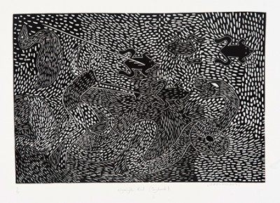 James Holroyd, Nganjk Kul - Payback, Aboriginal art
