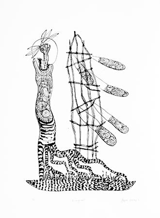 Arone Meeks, Mangrove, Aboriginal art