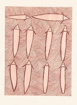 Clara Wubugwubuk, Catfish, Aboriginal art