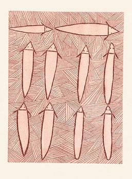 Clara Wubugwubuk, Catfish, Aboriginal art