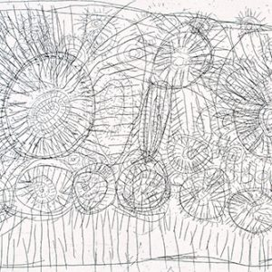 Rosie Napurrurla Tasman, Grass Seed Dreaming - Ngurlu II, Aboriginal art