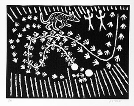 Jimmy Pike, Milkarra Waakula, Aboriginal art