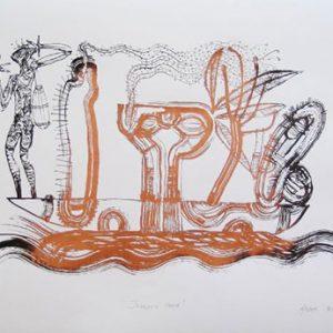 Arone Meeks, Journey Home, Aboriginal art