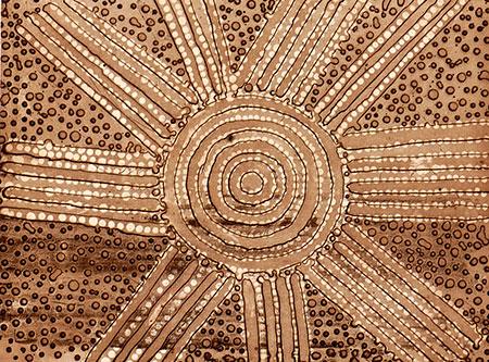 Men's Ceremony, Henry Dixon Petyarre, Aboriginal art