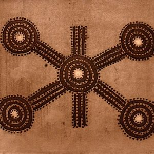 Don Young, Untitled, Aboriginal art