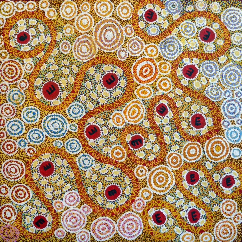 Ruth Nungarrayi Spencer, Wardapi Jukurrpa, Aboriginal art