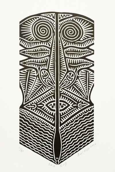 Billy Missi, Ara Gub, Torres Strait Islander art