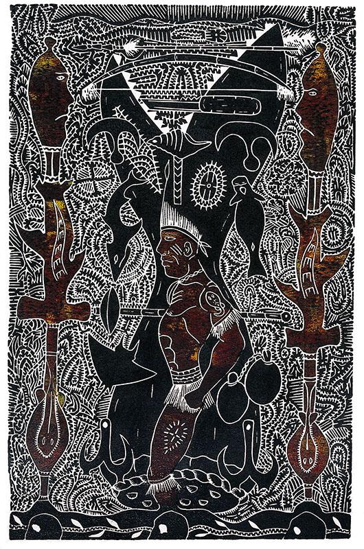 David Bosun, Koebu Giraral, Torres Strait Islander art