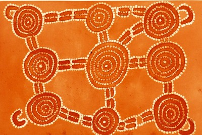 Dinny Nolan, Pamapardu, Flying Ant Dreaming, Aboriginal art