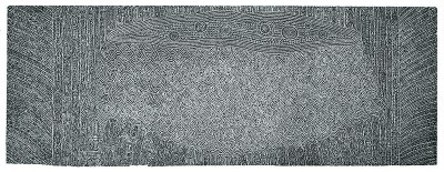 Dennis Nona, Ara - Boxing Waves During Strong Current, Torres Strait Islander art