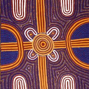 Louie Pwerle, Ingoota - Young Men's Ceremony, Aboriginal art