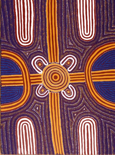 Louie Pwerle, Ingoota - Young Men's Ceremony, Aboriginal art