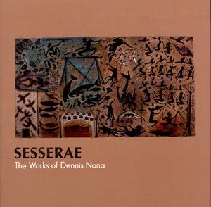 Sesserae - The Works of Dennis Nona, Torres Strait Islander art book, Torres Strait Islander art