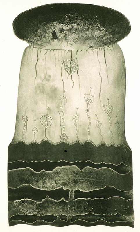 Dennis Nona, Wakasu (Coconut Oil), Torres Strait Islander art