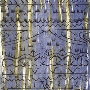 Dennis Nona, Gabau Giralal - Wind clouds, Torres Strait Islander art