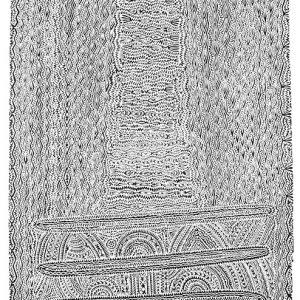 Dennis Nona, Kerr Kerr - Mountain Bush Ginger, Torres Strait Islander art