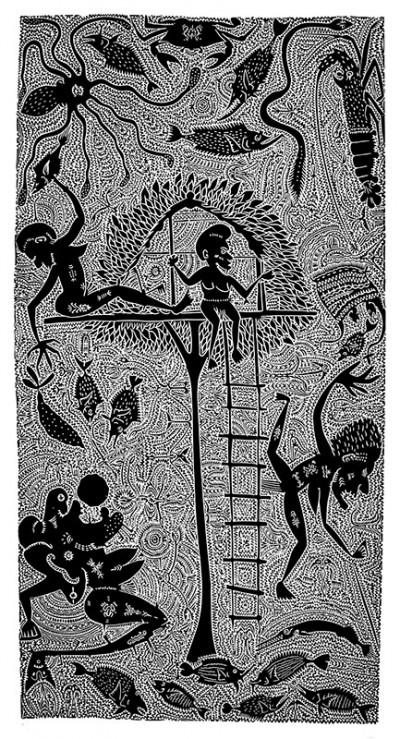 Dennis Nona, Ulalai Dogai, Torres Strait Islander art