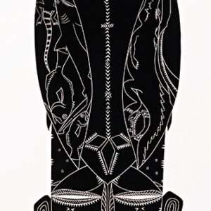 Glen Mackie (Kei Kalak), Waru, Torres Strait Islander art