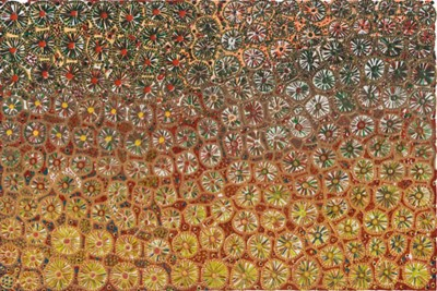 Roy McIvor, Bubu Gunbi 'Dry' (Earth-Blood), Aboriginal art