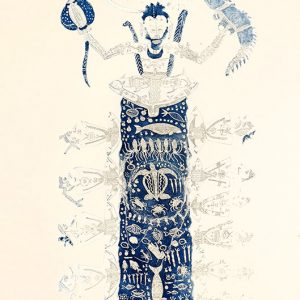 Dennis Nona, Mamoose II, Torres Strait Islander art – Chief Mamoose