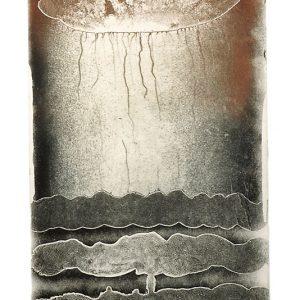 Dennis Nona, Wakasu II – Coconut Oil, Torres Strait Islander art