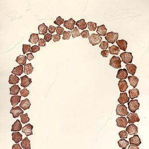 Dennis Nona, Wapiew – Fish Rocks, Torres Strait Islander art