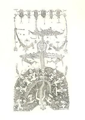Dennis Nona, Ari Pui I – Rain Sorcerer, Torres Strait Islander art