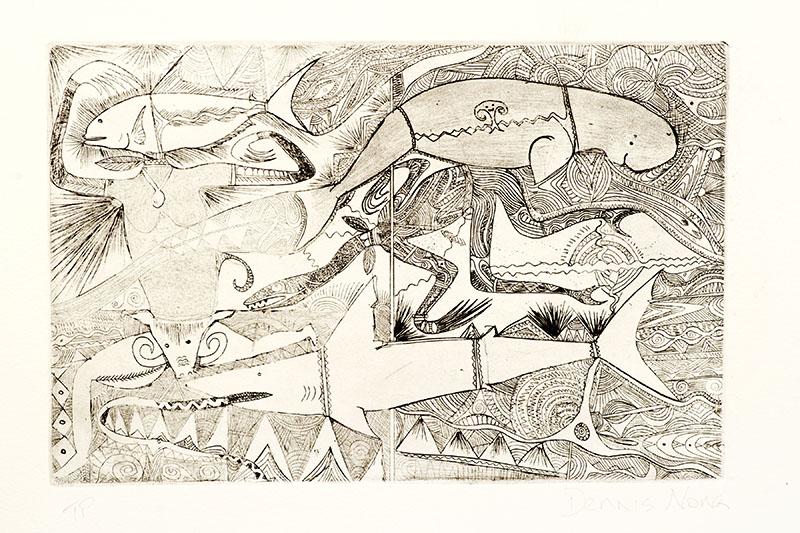 Dennis Nona, Untitled II, Torres Strait Islander art