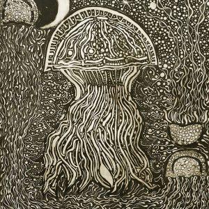 Aboriginal art, Romena Rose Edwards, Jellyfish and Eclipse