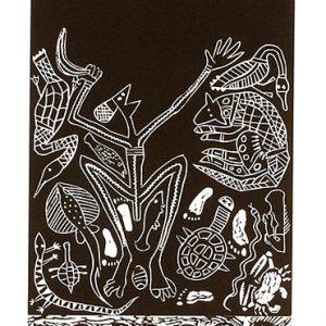 Gilbert Jack, Creation of the Moon - Pahm, Aboriginal Art