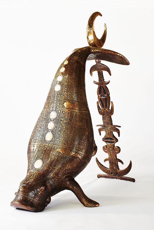 Alick Tipoti, Kisay Dhangal, Torres Strait Islander art