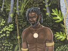 Segar Passi, Kobir - Silent People, Torres Strait Islander art