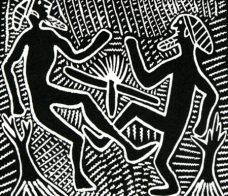 Jimmy Pike, Parnaparnti & Kurntumru, Aboriginal Art
