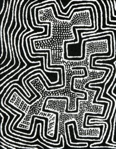 Jimmy Pike, Purnara, Aboriginal Art