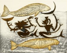 Dennis Nona, Dhangalau Mariel, Torres Strait Islander art