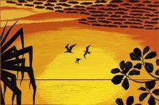 Segar Passi, Ap Gegur, Torres Strait Islander art, Murray Island